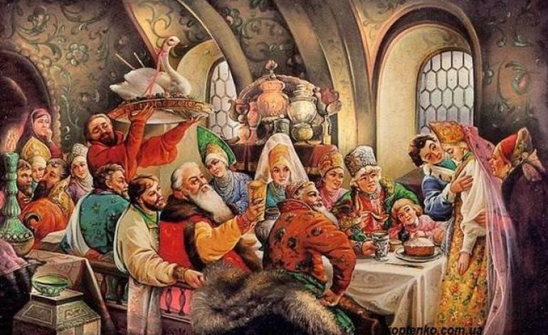 Las antiguas bodas rusas