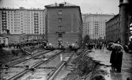 Traslado de edificios desde sus cimientos en Moscú